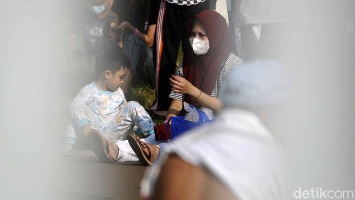 Pasien COVID-19 di RSD Wisma Atlet, Jakarta, meningkat. Kini Bed Occupancy Rate (BOR) di Wisma Atlet menyentuh angka 80% dari kapasitas normal.