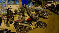 Meresahkan, Puluhan Motor dan Remaja yang Akan Balap Liar di Tuban Diamankan