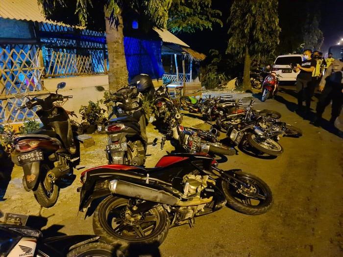balap liar di Jalan Soekarno-Hatta Tuban dibubarkan