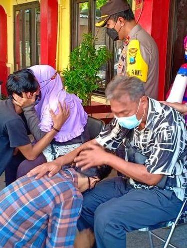 Belasan Remaja di Surabaya Balap Liar dan Pesta Miras