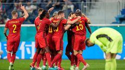 Belgia Ungguli Rusia 2-0 di Babak Pertama