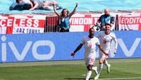 Euro 2020: Sterling Akhirnya Cetak Gol untuk Inggris di Turnamen Besar