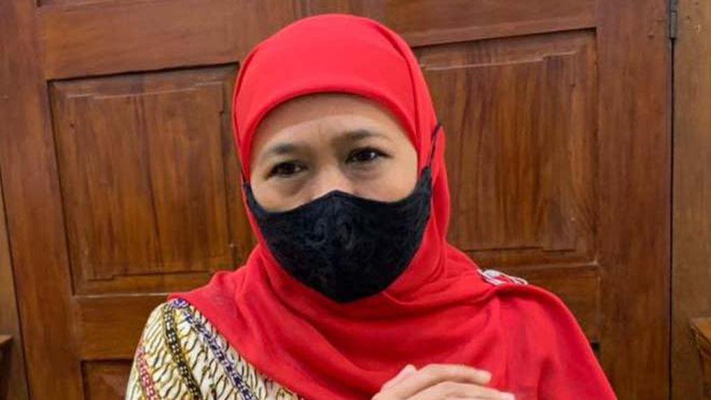 Kembali Positif COVID-19, Gubernur Khofifah Batal Hadiri Sertijab Bupati Tuban