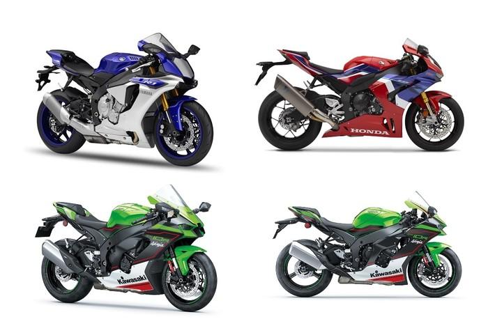 Kawasaki Ninja ZX10R vs Honda CBR 1000 RR-R vs Yamaha R1