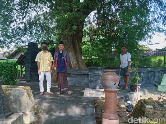 Makam Kiai Melati di Sekalekan, Klaten, Minggu (13/6/2021).