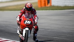 Pertama Kalinya! Pebalap Indonesia Pole Position di CEV Moto3