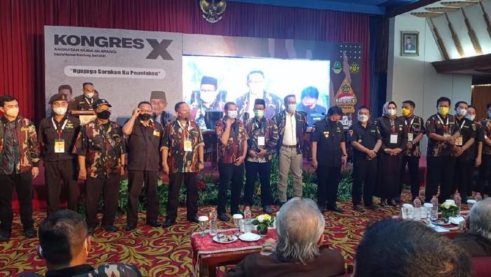 Noery Ispandji Kembali Terpilih Jadi Ketum Angkatan Muda Siliwangi