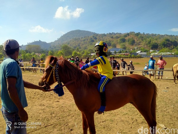 Biasanya para joki ini disewa oleh para pemilik kuda pacuan untuk menunggangi kuda mereka. Dalam sehari joki biasa meraup uang sebesar Rp 1 juta.