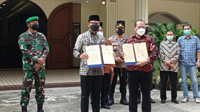 Pemkot Bogor hibahkan tanah untuk pembangunan rumah ibadah GKI Yasmin.