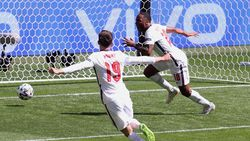 Inggris vs Kroasia: Gol Sterling Menangkan The Three Lions