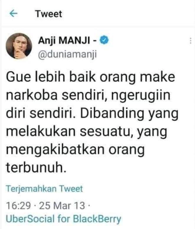 Tweet Anji