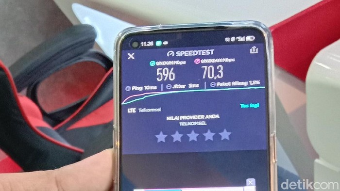 Uji Kualitas Jaringan 5G di Medan