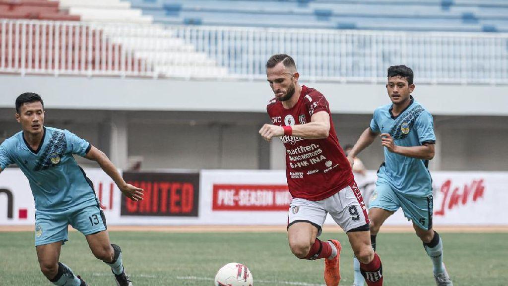 Bali United Menangi Laga Perdana Tour de Java