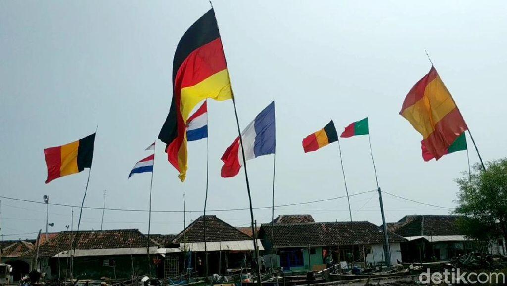 Demam Euro 2020 Melanda Kampung Bola di Pesisir Pasuruan