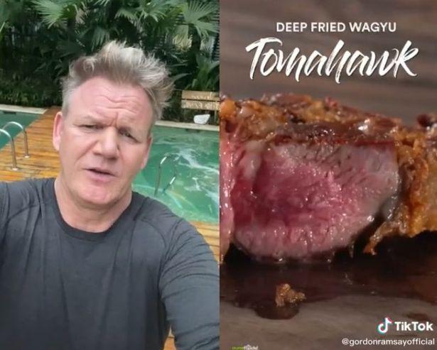 Gordon Ramsay Ngamuk di TikTok Gegara Lihat Steak Wagyu Digoreng