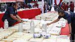 Foto: Sabu 1,1 Ton yang Dibongkar dari Jaringan Internasional