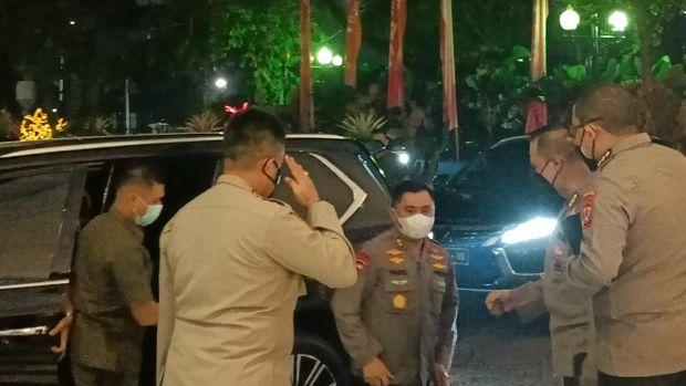 Kapolda Metro Jaya Irjen Fadil Imran tiba setelah Pangdam Jaya