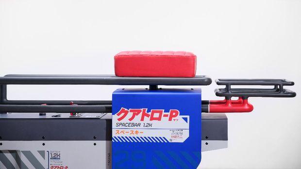Katalis merilis skuter listrik Spacebar Quatro-P