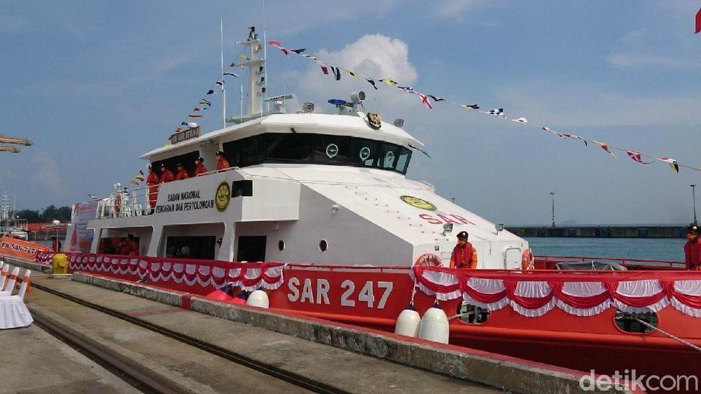 Keren! Basarnas Banten Punya Kapal Baru, Ini Spesifikasinya