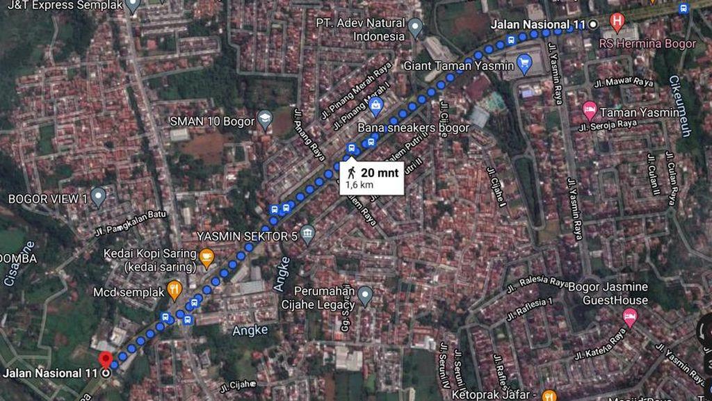 Ini Lokasi Baru GKI Yasmin, Masih di Jalan Abdullah Bin Nuh
