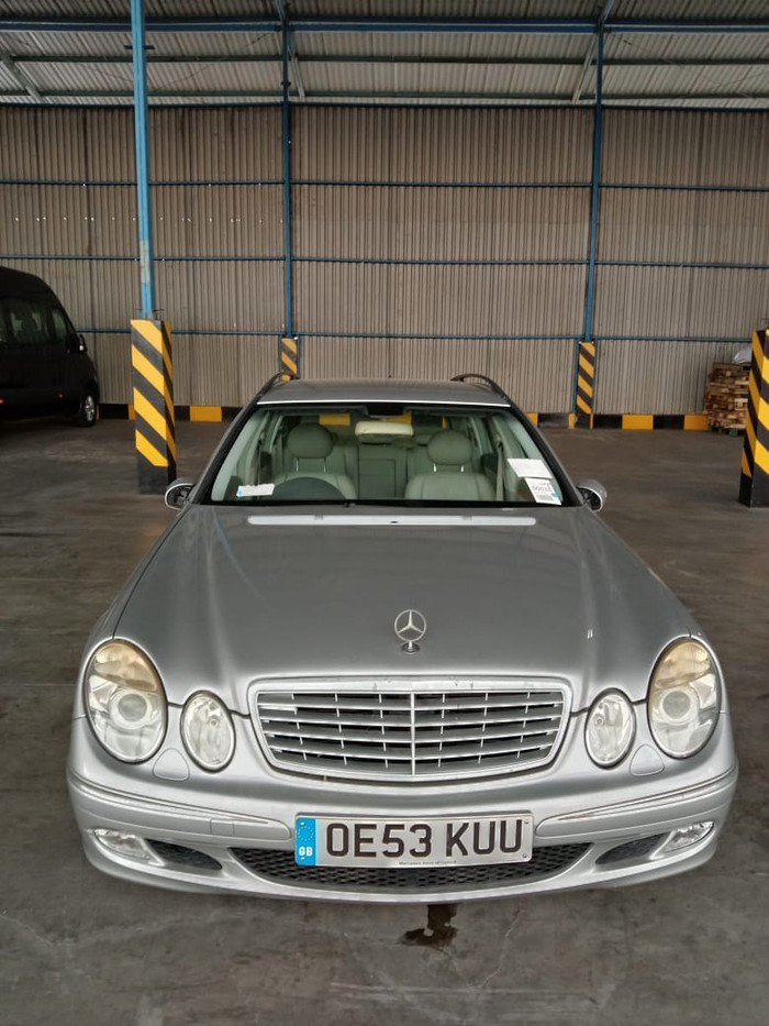 Mercedes-Benz Wagon Langka Dilelang