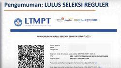 Pengumuman SBMPTN 2021: Data Penerimaan hingga Cara Daftar Ulang