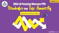 Podcast: IHSG di Pusaran Wacana PPN-Tax Amnesty (Bersama Ellen May)