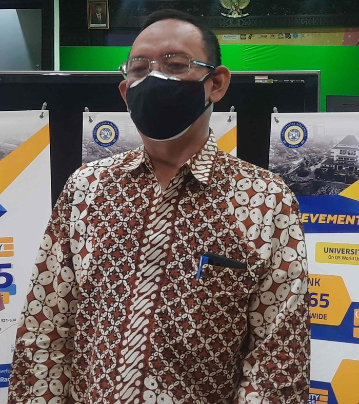 Rektor Universitas Airlangga (Unair) Surabaya, Prof Moh Nasih
