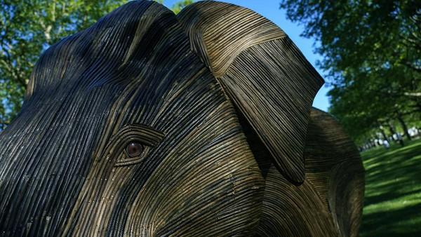Diketahui, patung-patung gajah yang menghiasi Green Park itu didedikasikan untuk melindungi gajah Asia dari ancaman kepunahan.