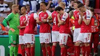 Pelatih Denmark: Kami Harusnya Pulang Saja Usai Eriksen Kolaps