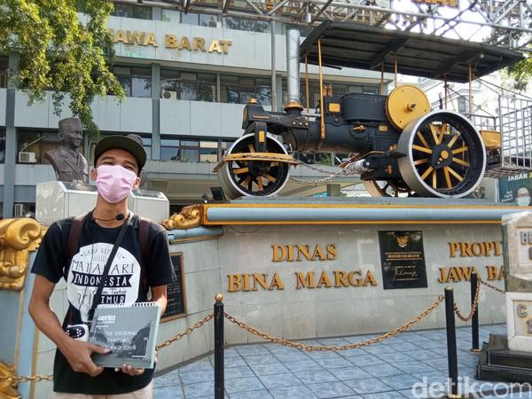 Tur ini dimulai dari titik 0 KM Bandung.(Bonauli/detikcom)
