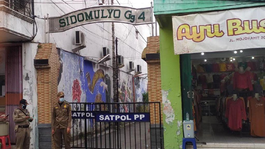 Di Kota Mojokerto, Satu Gang Di-lockdown Gegara 5 Warga Positif COVID-19