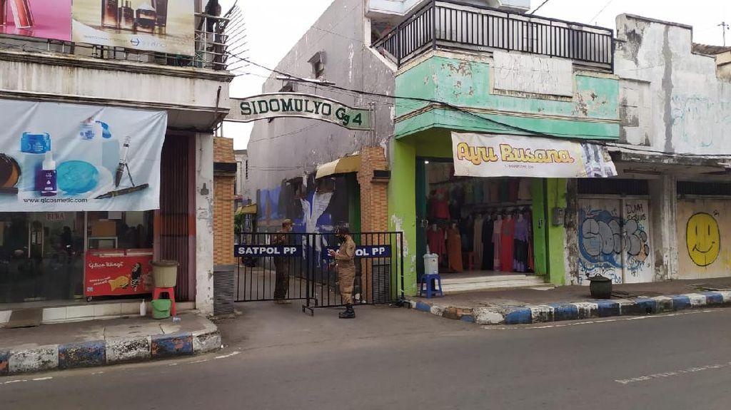 Satu Gang di Kota Mojokerto Lockdown, Sumber Penularan Belum Terdeteksi