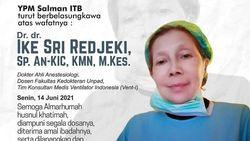 dr Ike Sri Redjeki Wafat Akibat COVID-19, Unpad: Sosok Panutan