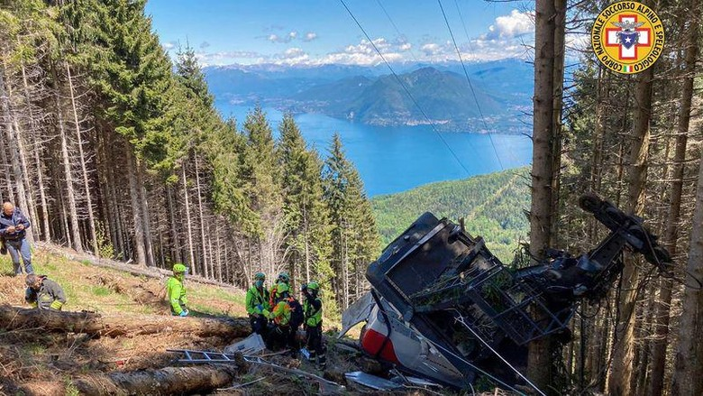 Kecelakaan Gondola di Italia
