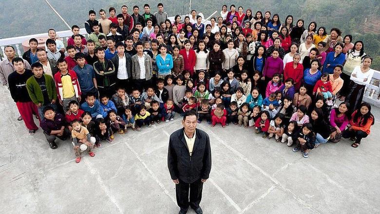 Kepala keluarga terbesar di dunia meninggal, tinggalkan 38 istri, 89 anak, 36 cucu, tempat tinggalnya menjadi kawasan wisata