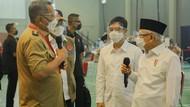 Maruf Amin ke Walkot Tangsel: Percepat Vaksinasi Massal!