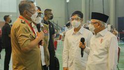 Pesan Maruf Amin ke Walkot Tangsel soal Vaksinasi hingga Prokes