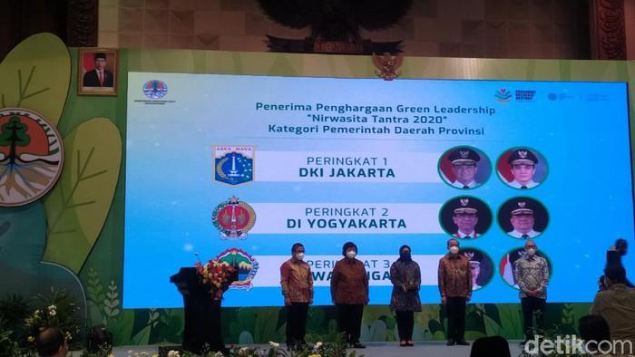 Penganugerahan Green Leadership Nirwasita Tantra KLHK 2020