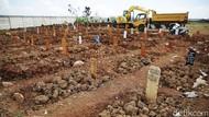 Pemakaman COVID-19 di Jakarta Melonjak 2 Kali Lipat Sepekan Terakhir