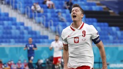 Euro 2020: Lewandowski Lagi-lagi Mandul di Turnamen Besar