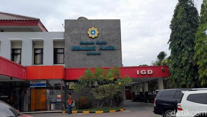 RS Bhakti Asih, salah satu RS rujukan COVID-19 di Brebes kini penuh pasien Corona, Selasa (15/6/2021)