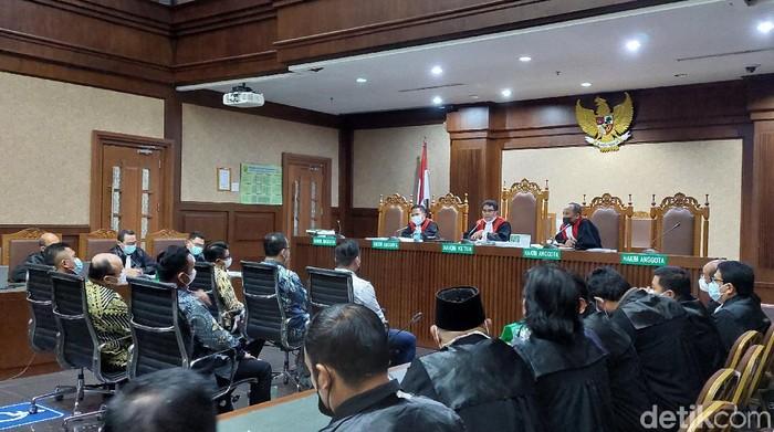 Sidang lanjutan kasus suap ekspor benur di Pengadilan Tipikor Jakarta (Zunita Amalia/detikcom)