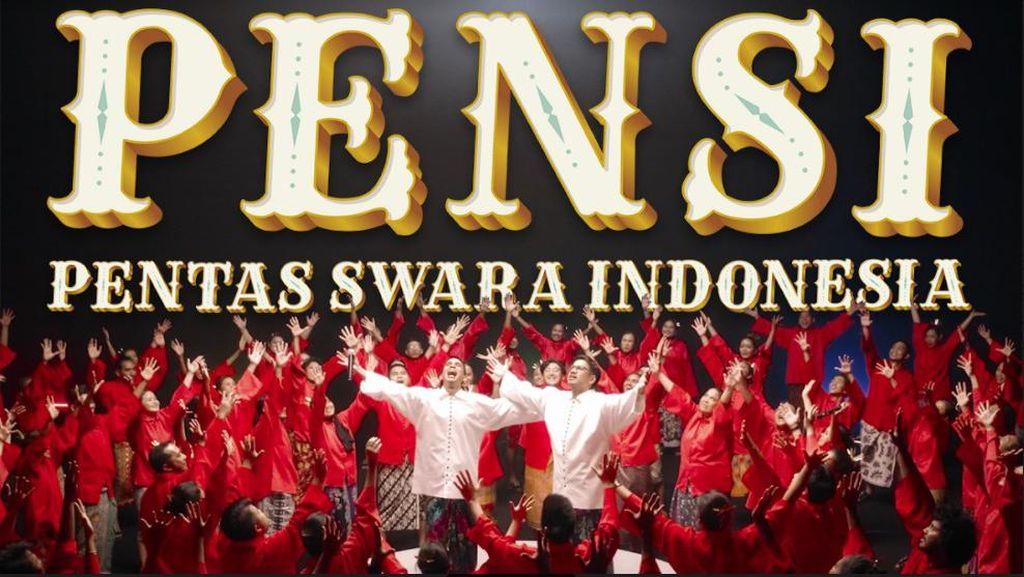 SkinnyIndonesia24 Lantunkan Jingle Indomie dengan 100 Orang Paduan Suara