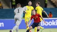 Hasil Spanyol Vs Swedia: Tuntas Tanpa Gol