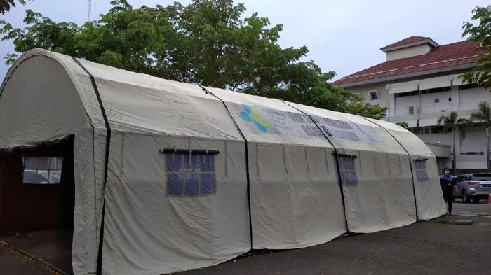 Tenda di RSUP dr Kariadi. dok istimewa via Angling (sudah izin pemilik foto)