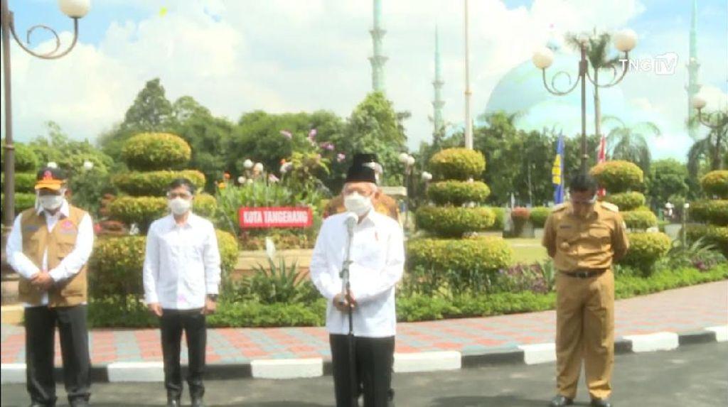Wapres Soroti Vaksinasi di Kota Tangerang yang Tertinggal