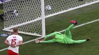 Szczesny Langsung 2 Rekor di Euro 2020 gegara Gol Bunuh Diri!