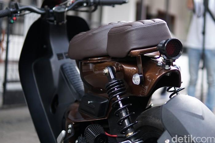 Yamaha Mio GT Modifikasi Street Cub buatan Rainbow Moto Builder