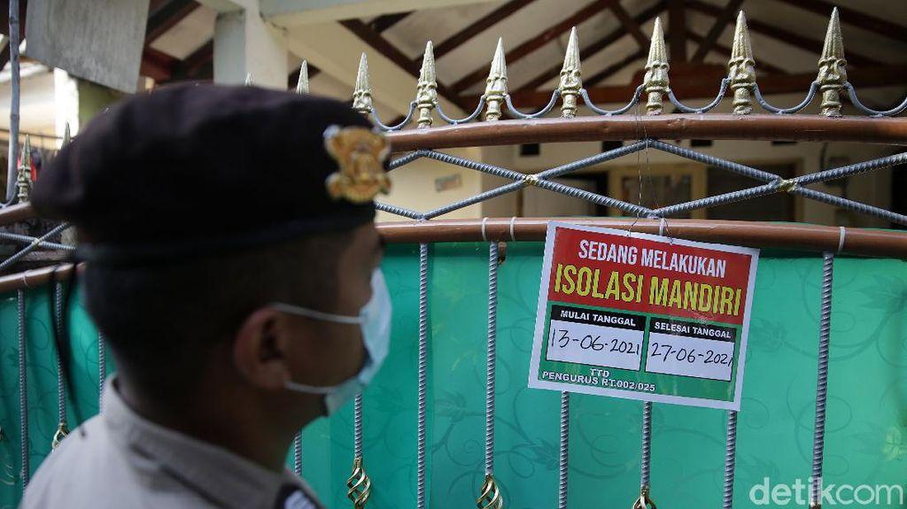47 Warga Positif COVID-19, 1 RT di Bekasi Dilockdown